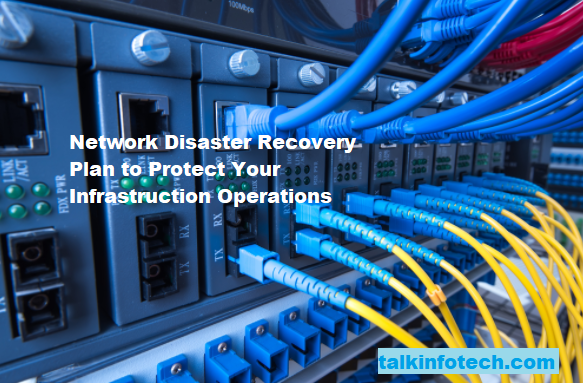 Network disaster recovery plan