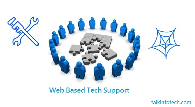 web based tech support