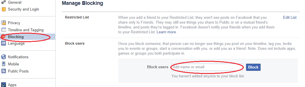 How to Block and Unblock Friends on Facebook Easily with out sweat