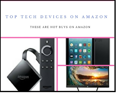 Amazon Bestseller Tech Products in 2018