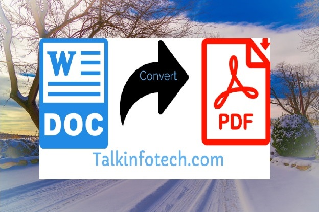 Convert Word to PDF Online: here is the fastest and easiest way to